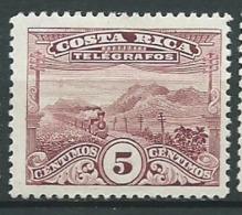 Costa Rica    -  Telegraphe  -  Yvert N° 20 **   Az 27521 - Costa Rica