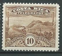 Costa Rica    -  Telegraphe  -  Yvert N° 21 *   Az 27522 - Costa Rica