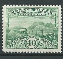 Costa Rica    -  Telegraphe  -  Yvert N° 22 *   Az 27523 - Costa Rica