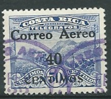 Costa Rica    - Aérien  -  Yvert N°  8 Oblitéré      Az 27527 - Costa Rica