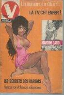 """V. MAGAZINE N° 573  """" MARTINE CAROL """"   1963 - 1900 - 1949"""