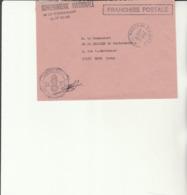 H 4 - Enveloppe Gendarmerie Prévôtal  FFA - NEUSTADT (cachet Manuel) - Marcofilie (Brieven)