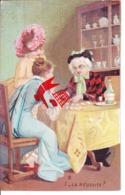 Chromo 7cm Large X 11 Cm Haut - Représentant Dames  N°1 La Réussie ? - - Cartes Postales