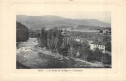 CPA 09 FOIX LES BORDS DE L ARIEGE LA MINOTERIE - Foix