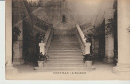 C. P. A. - GENTILLY - L'ESCALIER - - Gentilly