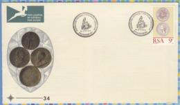 South Africa RSA FDC - 1974 - Numismatic Convention Money Coins Burgerspond - Münzen