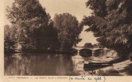CPA Pesmes Pont Sur L'ognon - Pesmes