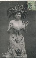 Anna Thibaud Née à St Aubin Chanteuse  Parisiana Y Ad'la Femme. Robe Corset Departement Aveyron Aude Herault Etc - Artisti