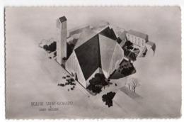 SAINT NAZAIRE -- Destruction De L'église Saint-Gohard Le 28 Février 1943--Reconstruction -1ère Pierre 28 Mars 1954 - Saint Nazaire