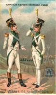 CHROMO CHOCOLAT GRONDARD GARDE DE PRIS 1808 - Altri