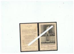 SOUVENIR COMMEMORATIF DES ENFANTS D'HONDSCHOOTE MORTS POUR LA PATRIE 1914 1918 - 1914-18