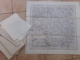 Gros Lot De 45 Cartes Carte 19 Em 60 Par 80 Environ Royaume D Italie  Tous Petit Prix  Ideal Revendeur - Geographische Kaarten