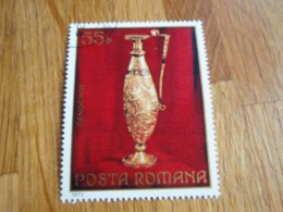 Timbre Posta Romana Roumanie OENOCHOE.  Pichet à Vin. - 1948-.... Repúblicas