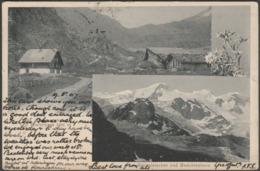 Steinwirtshaus Und Sustenpass, Steingletscher Und Gwächtenhorn, Bern, 1907 - Wehrli AK - BE Berne