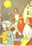 120) Saint-Nicolas - Sinterklaas - Zeer Goede Staat - L'état Très Bon ! - 10 X 15 Cm - Saint-Nicholas Day