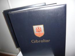ALBUM DAVO + ETUI  + FEUILLES DAVO LUXE GIBRALTAR 2000/02 BLOCS1974/2002 (vol. II) - Album & Raccoglitori
