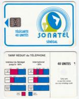 Senegal - 2 Diff. Old Cards - Senegal