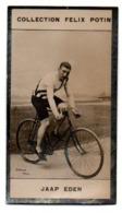 Cyclisme. Collection Felix Potin, Photo Argentique : Jaap Eden, 1873-1925, Pays-Bas. - Radsport