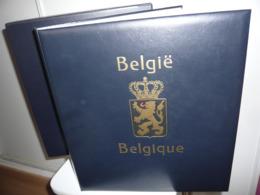 ALBUM DAVO + ETUI  + FEUILLES DAVO LUXE BELGIQUE 1985/99 (vol. IV) - Album & Raccoglitori