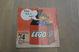 LEGO - CATALOG 1974 - Original Lego 1974 - Vintage - DE - Big - Kataloge