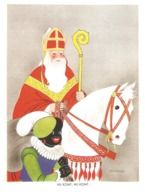 126) Saint-Nicolas - Sinterklaas - Zeer Goede Staat - L'état Très Bon ! - 10 X 15 Cm - Saint-Nicolas