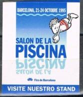 Viñeta 32 Salon De La PISCINA, BARCELONA 1995. Label, Cinderella ** - Variedades & Curiosidades