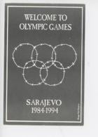 Sarajevo : Welcome To Olympic Games Sarajevo 1984-1994 (jeux Olympiques) Trio Sarajevo War Cicumstances - Other Illustrators