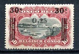 Congo Belge   105   (X)   ---   Sans Gomme - 1894-1923 Mols: Ungebraucht