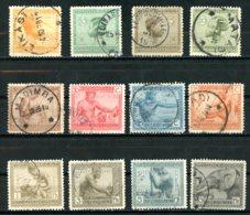 Congo Belge   106 - 117   Obl   ---   TTB - 1894-1923 Mols: Used