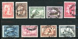 Congo Belge   150 - 158   Obl   ---   Bel état... - 1923-44: Gebraucht