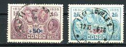 Congo Belge   192 - 193   Obl   ---    TTB - Congo Belge