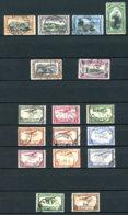 Congo Belge   PA 1 - 17   Obl   ---    Poste Aérienne Complète --  TTB - Congo Belge