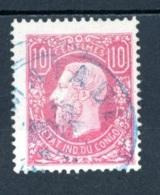 Etat Indépendant Du Congo   2   Obl   ---    TTB - Belgisch-Kongo