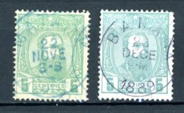 Etat Indépendant Du Congo   6 - 6A    Obl   ---    Les Deux Nuances... - Belgisch-Kongo