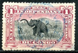Etat Indépendant Du Congo   26   Obl   --- - Belgisch-Kongo