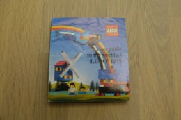 LEGO - CATALOG 1975 - Original Lego 1975 - Vintage - EN - Small - Kataloge