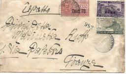 Urgente De Napoles A Florencia 16 Abril 1926 - 1900-44 Victor Emmanuel III.