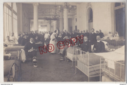 Au Plus Rapide Vanves Hôpital Militaire Carte Photo E Diétrich Février 1915 Guerre 1914 1918 Excellent état - Vanves