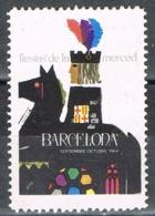 Viñeta BARCELONA 1964, Fiestas De La MERCED. Label, Cinderella ** - Variedades & Curiosidades