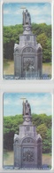 UKRAINE SCULPTURE OF VLADIMIR MONOMAKH 2 DIFFERENT CARDS - Ukraine