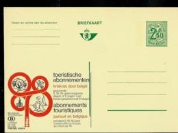 Publibel Neuve N° 2508  ( SNCB Chemins De Fer Belges; Abonements Touristiques) - Stamped Stationery