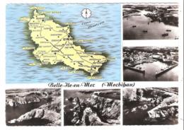 Belle Ile En Mer (56 - Morbihan) Multi Vues - Belle Ile En Mer