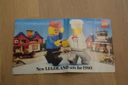 LEGO - CATALOG 1980 - Original Lego 1980 - Vintage - EN - Big - Kataloge