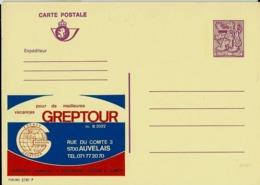 Publibel Neuve N° 2781  ( GREPTOUR  Vacances  - Auvelais) - Entiers Postaux