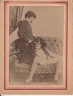 Original Vintage Photo Porn Nu On Thin Paper 7.5x9.5cm - Belleza Feminina (...-1920)