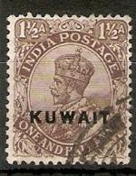 KUWAIT 1923 1½a SG 3 FINE USED Cat £14 - Kuwait