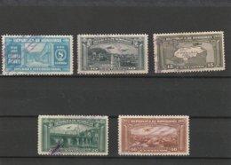 1935 Scott C77-C81 Used         020 - Honduras