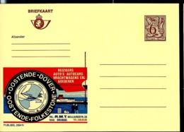 Publibel Neuve N° 2694  ( OOSTENDE - DOVER  ) - Stamped Stationery
