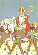 132) Saint-Nicolas - Sinterklaas - Zeer Goede Staat - L'état Très Bon ! - 10 X 15 Cm - Saint-Nicholas Day