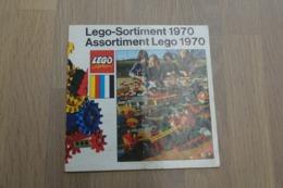 LEGO - CATALOG 1970 - Original Lego 1970 - Vintage - EN - Medium - Kataloge